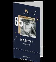 Uitnodiging 60 En 65 Jaar Verjaardag Made For Moments
