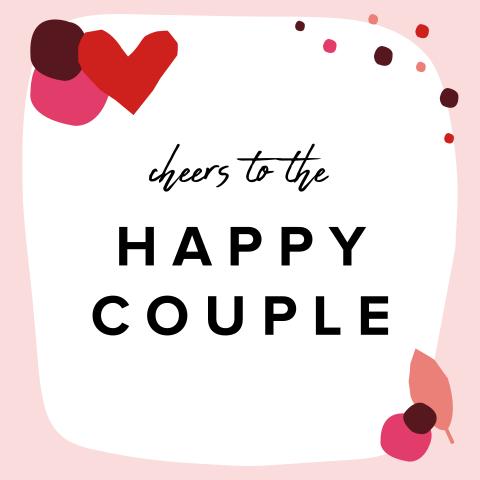 Betere Felicitatie Huwelijk - Made for Moments BM-05