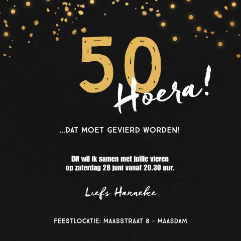 Goede Uitnodiging 50 jaar - Abraham Sarah TM-14