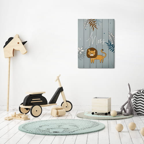 houten paneel geboorte made for moments