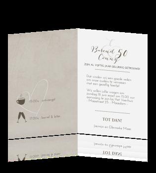 50 jaar getrouwd tekst kaart Teksten 50 Jaar Getrouwd Uitnodiging   ARCHIDEV 50 jaar getrouwd tekst kaart