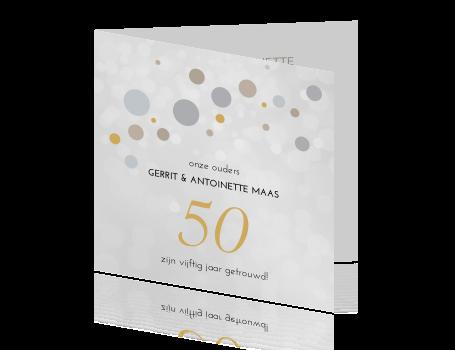 kaarten 50 jarig huwelijk Kaart 50 jarig huwelijk met foto kaarten 50 jarig huwelijk