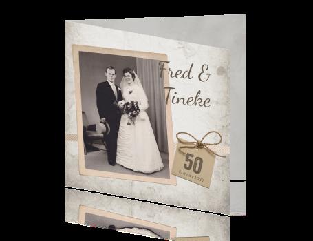 50 jaar gouden bruiloft Uitnodiging gouden huwelijk 50 jaar 50 jaar gouden bruiloft