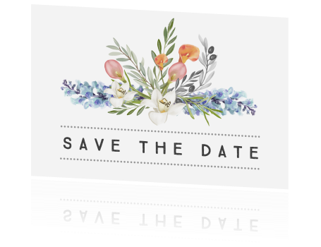 Save the date foral design classic