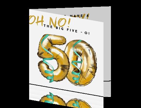 Hip Design Verjaardag 50 Jaar