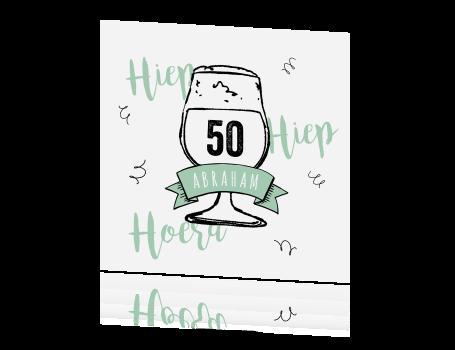Hip Design Verjaardag Man 50 Jaar