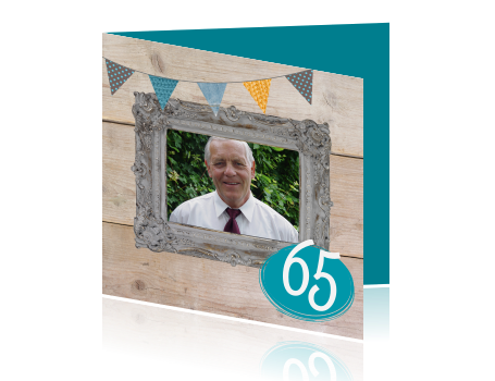 ... > Uitnodiging verjaardag > Originele uitnodigingskaart met foto: hipdesign.nl/uitnodiging-maken/uitnodigingen-verjaardag/uitnodiging...