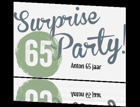 Surprise Uitnodiging Verjaardag Man