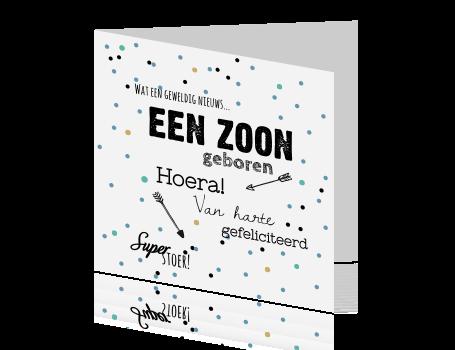 Felicitatie Zoon Jarig